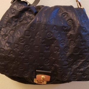 Marc by Marc Jacob's NWT black embossed logo bag